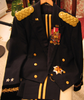 Army Uniform With Medals